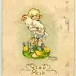 påskkort 1924
